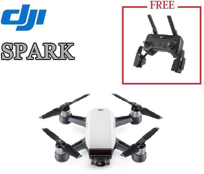 Drone Quadcopter Dji Spark Blanc + Télécommande