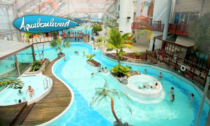 Abonnement d'un an pour Adulte ou Enfant au parc aquatique Aquaboulevard Paris 15ème (75) - Ex : 1 an d'accès illimité pour Adulte