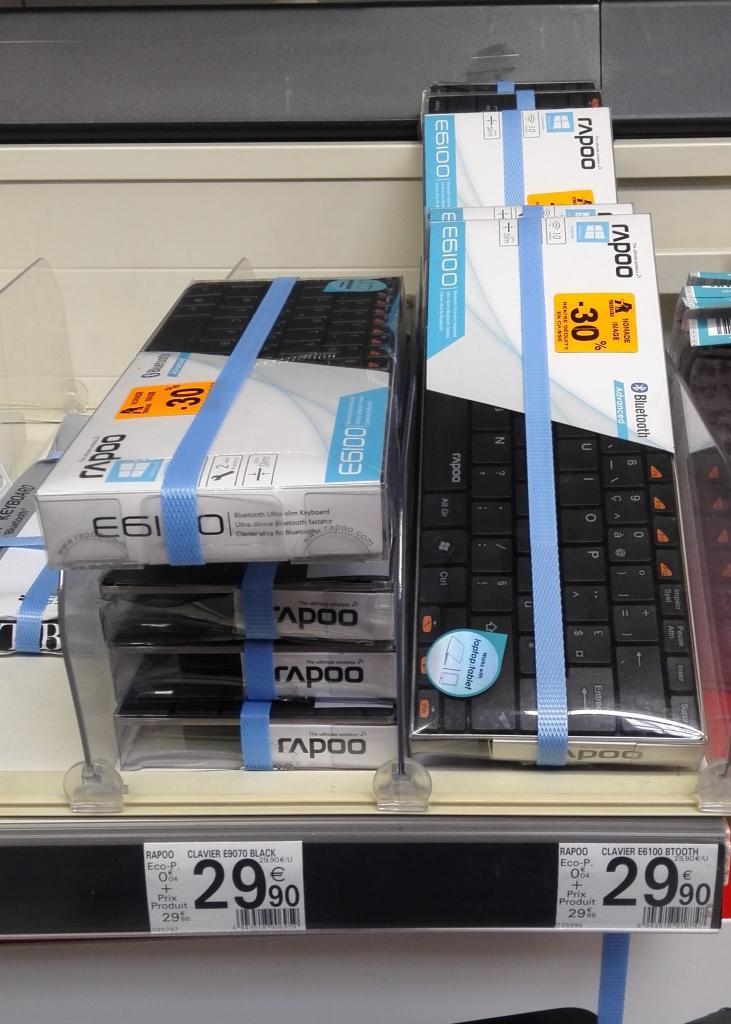 Clavier Ultra Slim Rapoo E6100