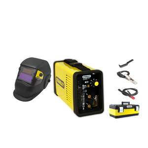 Poste à souder Stanley MMA Power 140 Inverter + Masque LCD