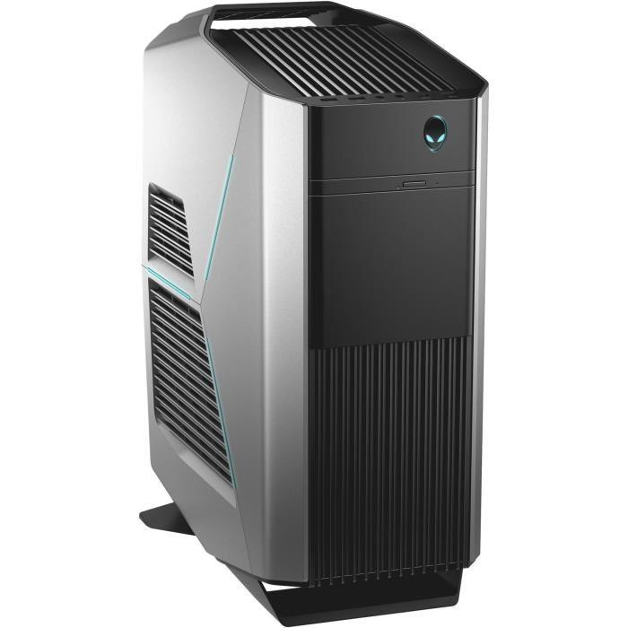 PC Fixe Dell Alienware Aurora R7 - i7-8700K, GTX 1080 8 Go, RAM 16 Go, SSD 256 Go + HDD 1 To,  Windows 10