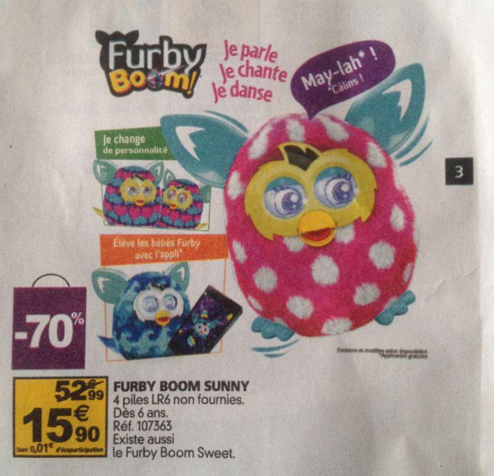 Jouet interactif Furby Boom Sunny