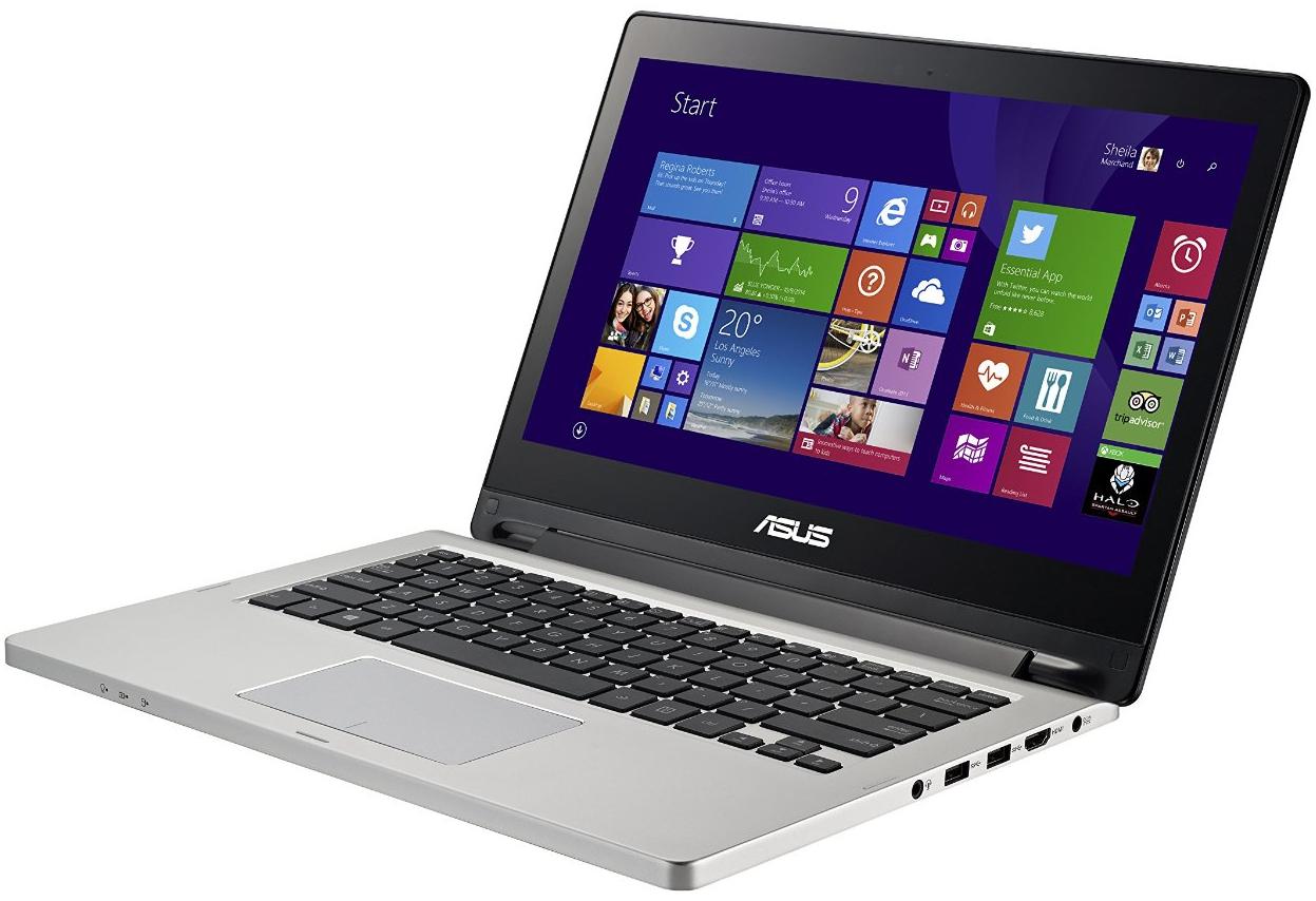 """PC portable tactile 13.3"""" Asus TP300LA-DW178H - Noir"""