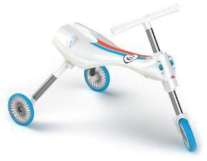 Tricycle Mookie pliable - Blanc et Bleu