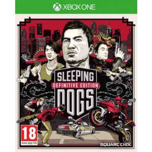 Jeu Sleeping Dogs Definitive Edition sur Xbox One