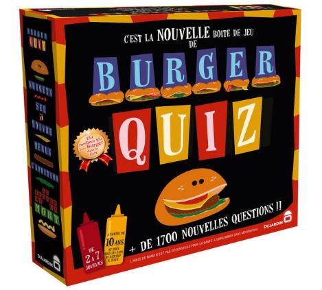 Jeu Burger Quiz - Nouvelle recette (Via 4.96€ sur la Carte Fidélité)