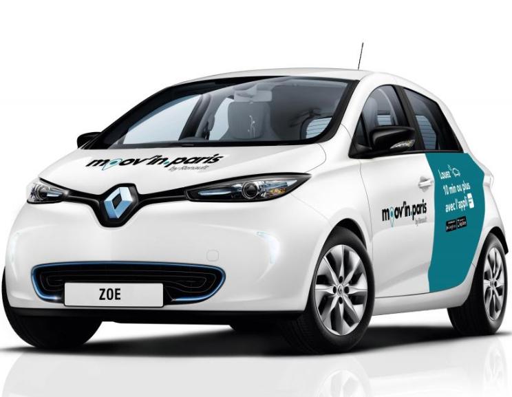 [Nouveaux clients] 20 minutes offertes pour votre premier trajet en Renault Zoé - Moov'in Paris (75)