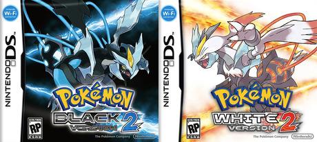 Pokémon versions Noire/Blanche 2 et Noire/Blanche sur DS