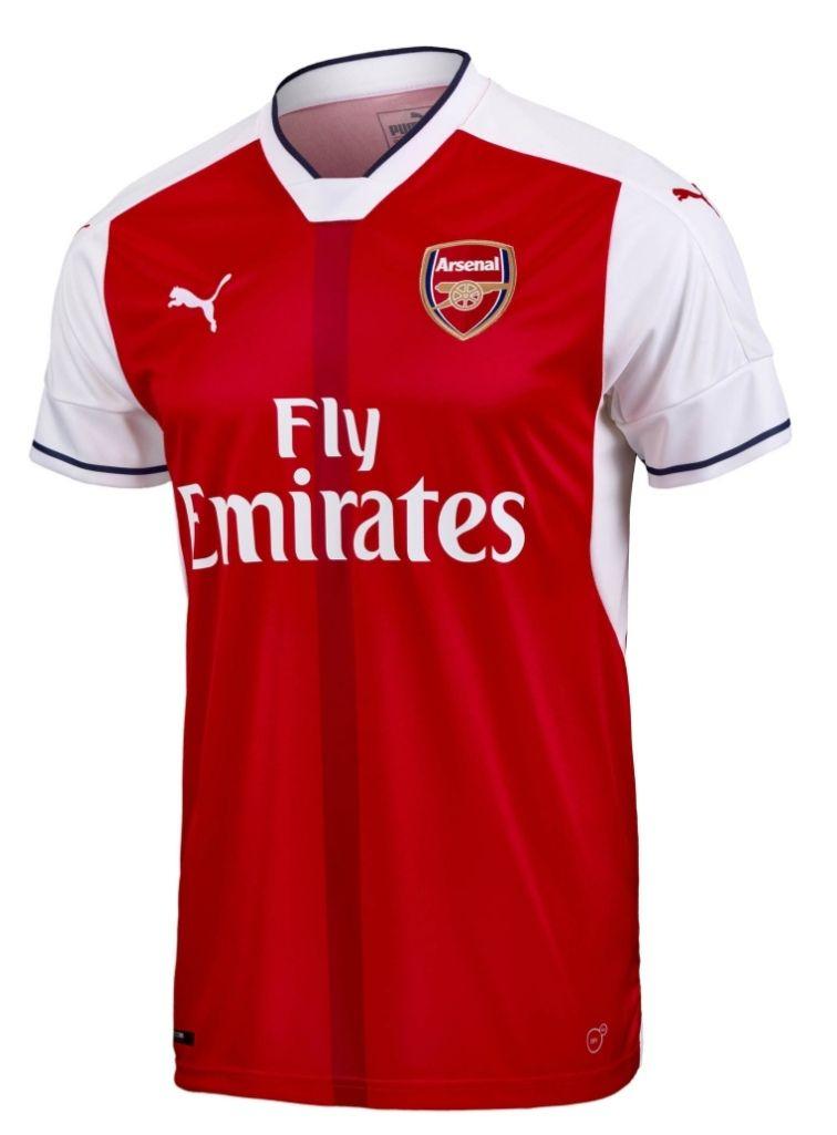 Maillot de Football Puma Arsenal FC 16/17 Home pour Hommes - Tailles au choix