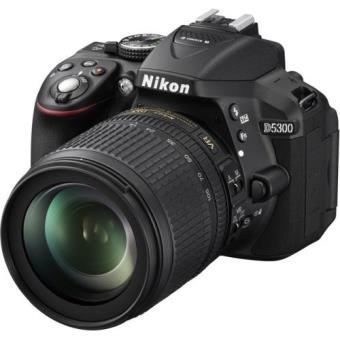 Reflex Nikon D5300 + Objectif AF-S 18-105 VR (Bon prix + ODR 50 €)