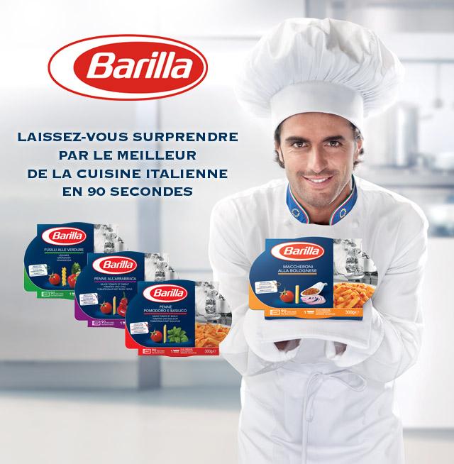 Barilla Plats préparés gratuit