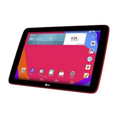 "Tablette 10.1"" LG G Pad 10.1 - 16 Go - Rouge"