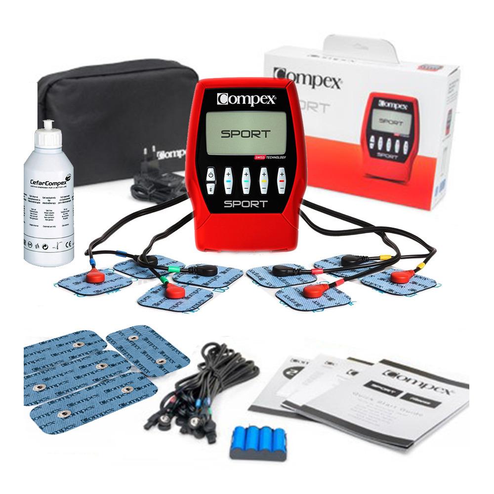 Pack electrosimulateur musculaire Compex Sport + Accessoires