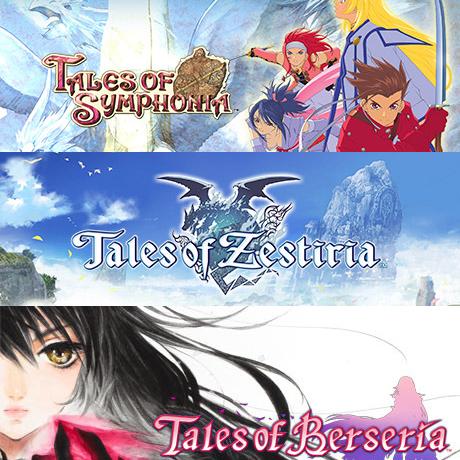 Bundle Tales of: Tales of Symphonia + Tales of Zestiria + Tales of Berseria sur PC (Dématérialisé - Steam)