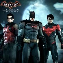Pack de skins New 52 pour le jeu Batman Arkham Knight