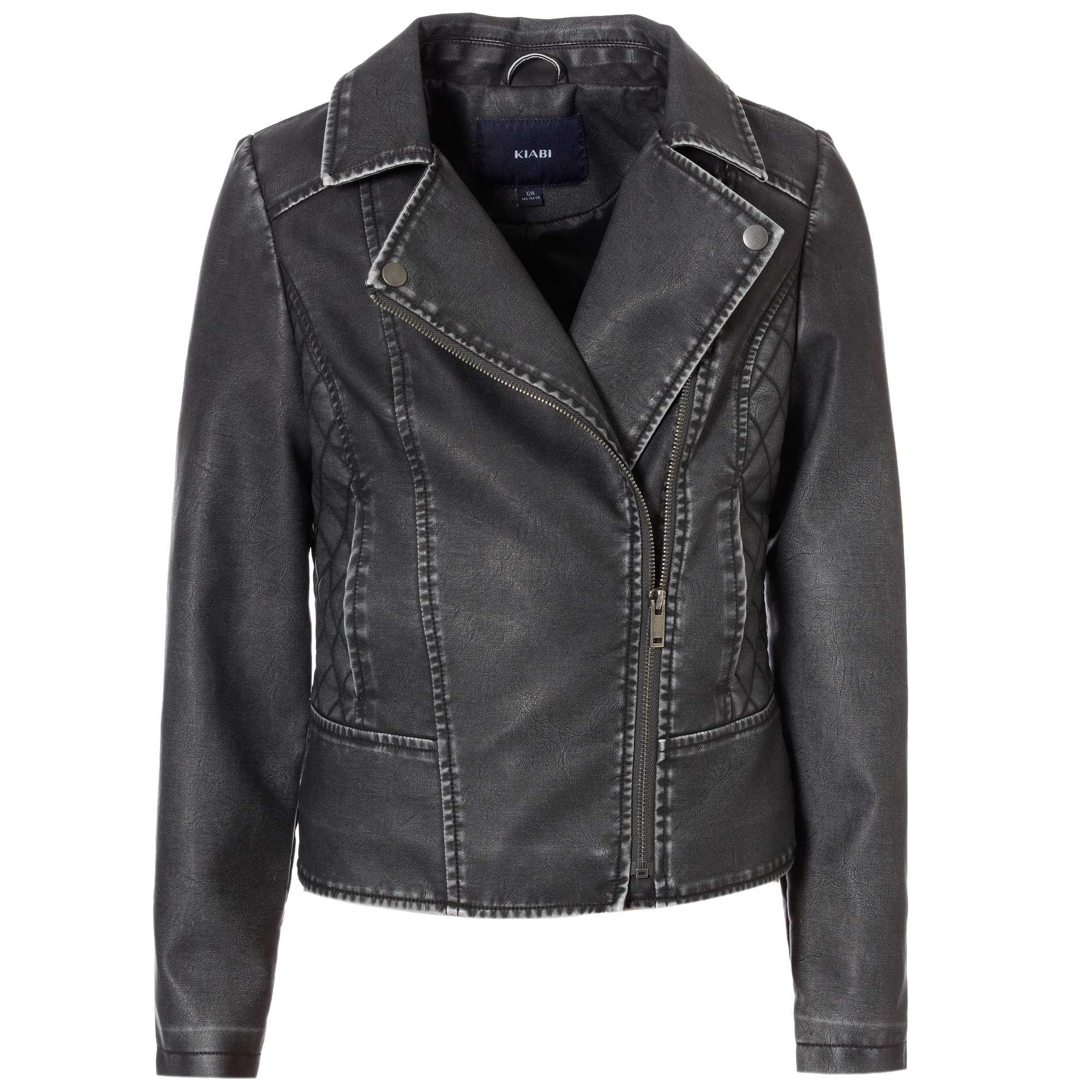 Jusqu'à -60% sur une sélection de vêtements - Ex : Blouson effet cuir enfant Noir