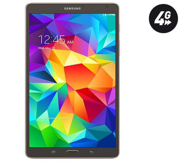 Samsung Galaxy Tab S 8.4 4G 16Go Titanium ou Blanc