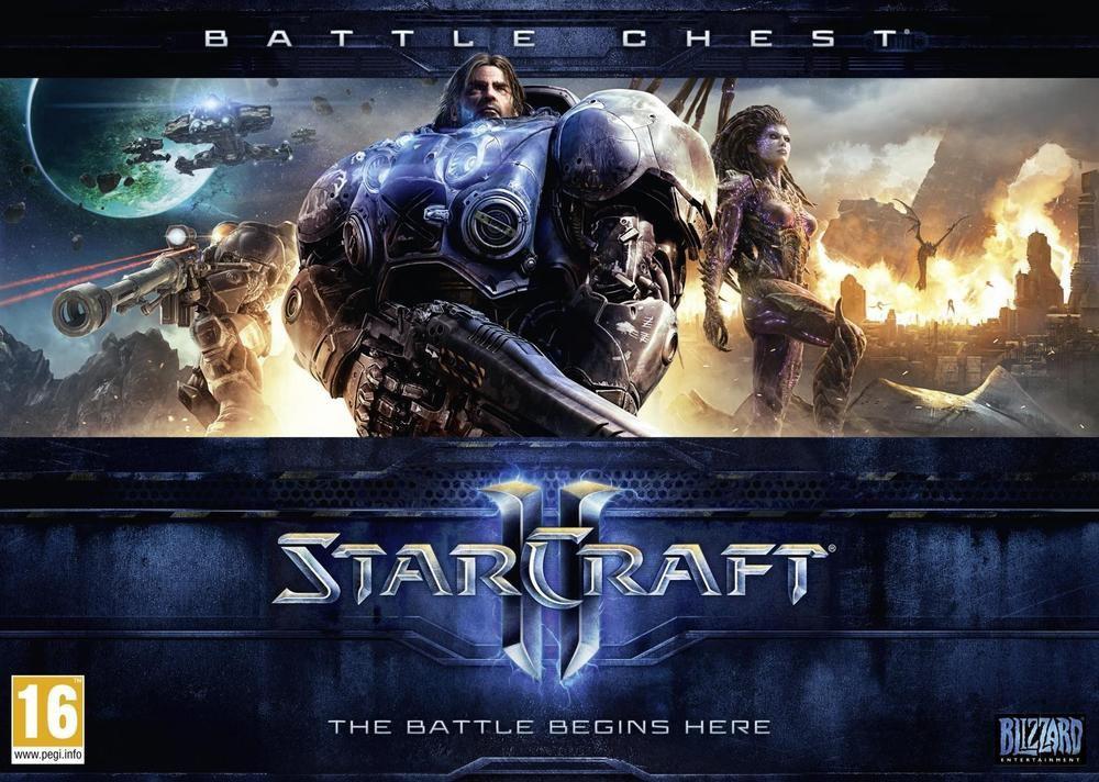 Jeu Battlechest Starcraft 2