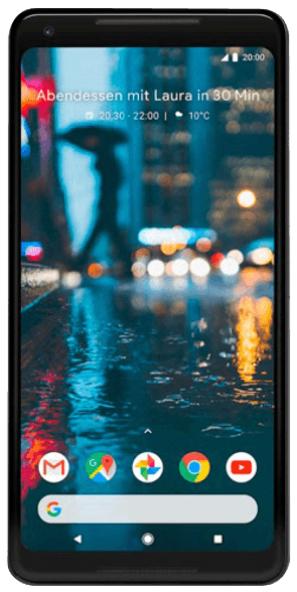 "Smartphone 6"" Google Pixel 2 XL - 64 Go (Frontaliers Allemagne)"
