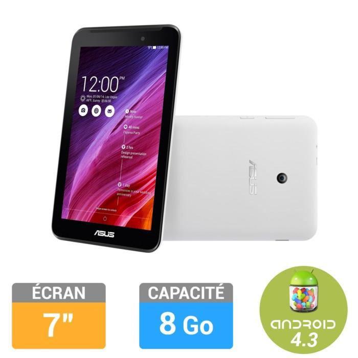 """Tablette 7"""" Asus MeMO Pad  8Go Blanc (ME7000C-1B002A)"""