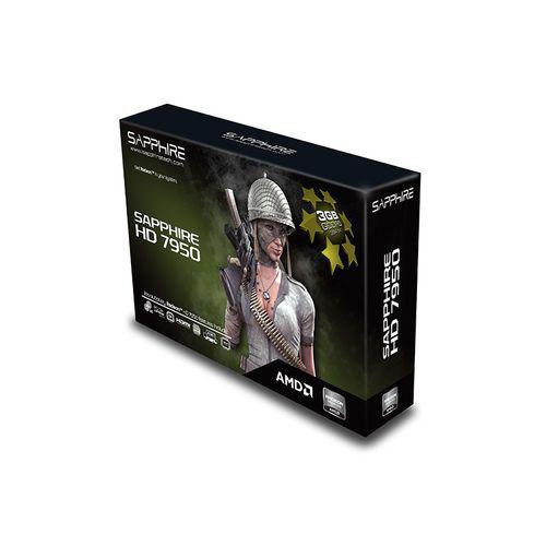 Carte graphique Sapphire Radeon HD7950 3G Lite - Reconditionné