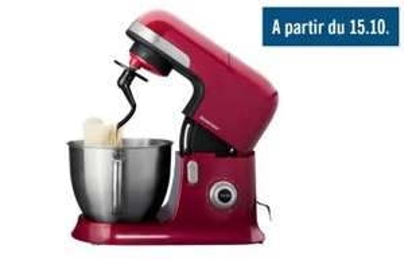 Robot de cuisine SilverCrest - 6,3L, 1300W, Rouge
