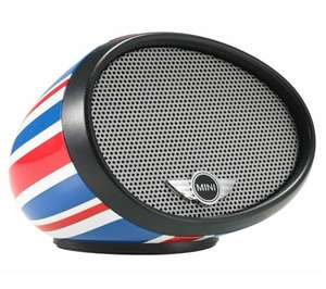 Mini-enceinte sans fil IUI Design Mini Mirror Boombox - Union Jack