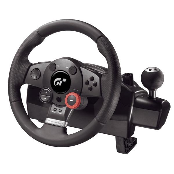 Volant de course Logitech Driving Force GT pour PC/PS3