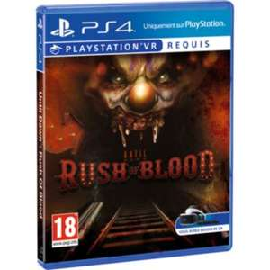 Sélection de Jeux PSVR (PS4) en Promotion - Ex : Until Dawn : Rush of Blood