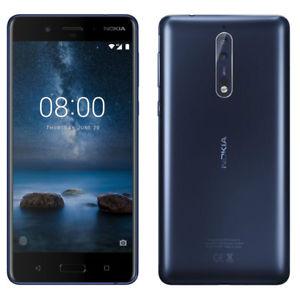 "Smartphone 5.3"" Nokia 8 - QHD, Snapdragon 835, RAM 4 Go, ROM 64 Go, Dual SIM"