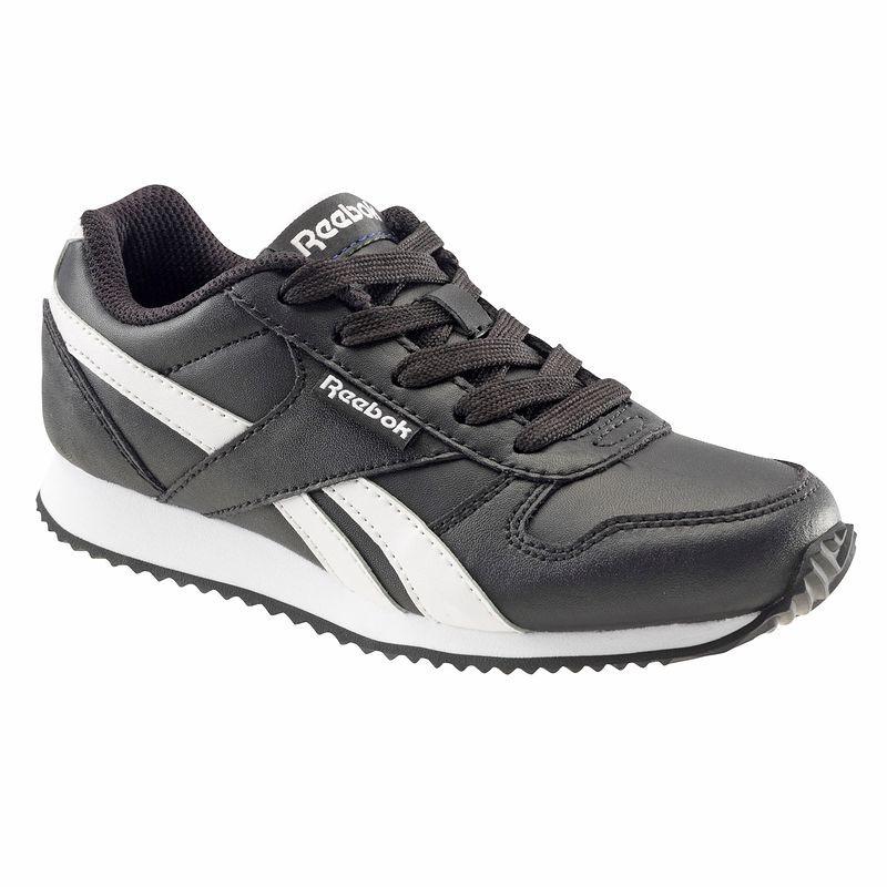 Chaussures enfant Reebok Jogger noir/blanc (Tailles 28 à 39)