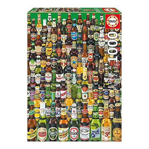 Puzzle 1000 pièces bieres Educa