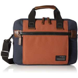 "Sacoche pour PC portable 13.3"" Samsonite Sideways - bleu / orange"