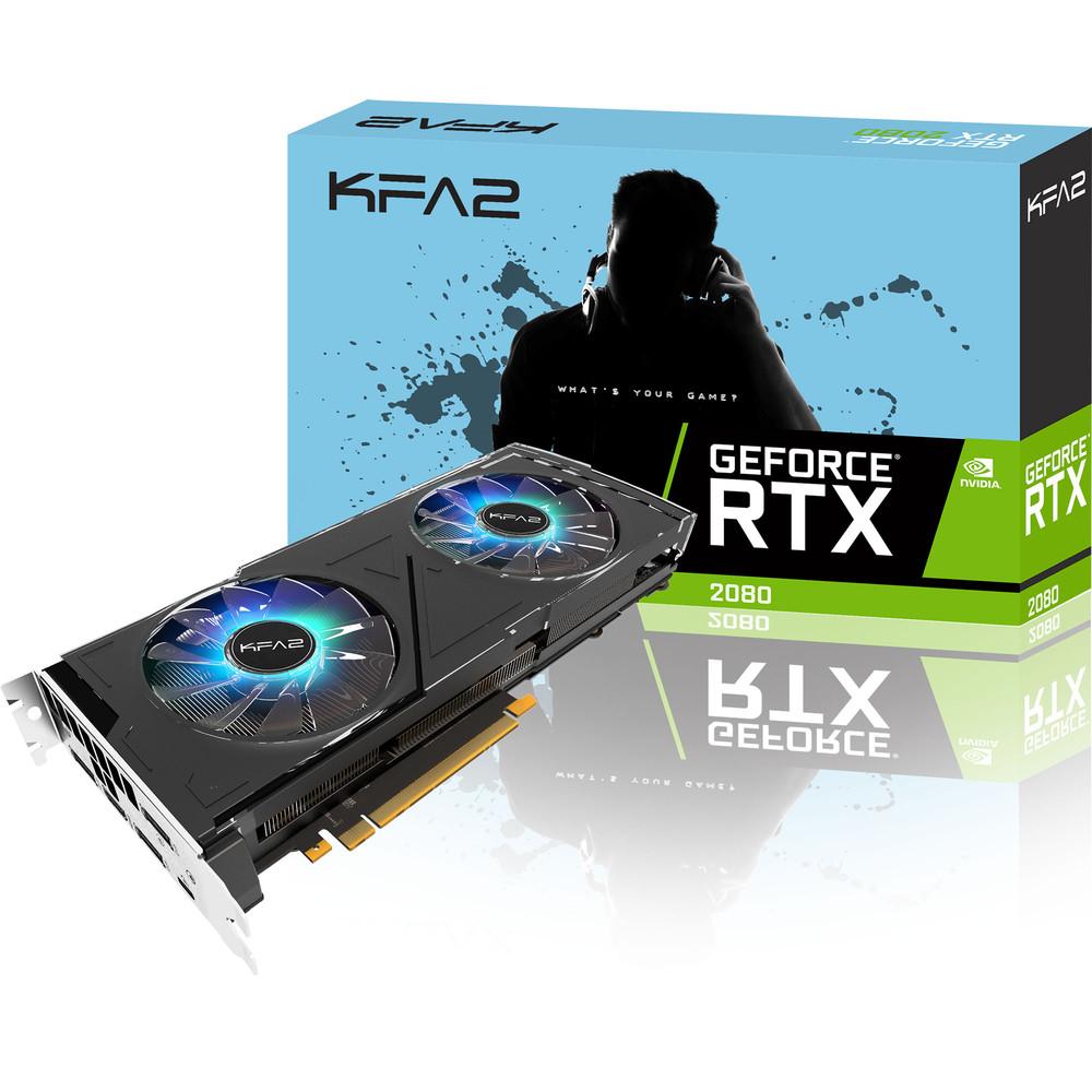 Carte graphique KFA2 GeForce RTX 2080 OC - 8 Go