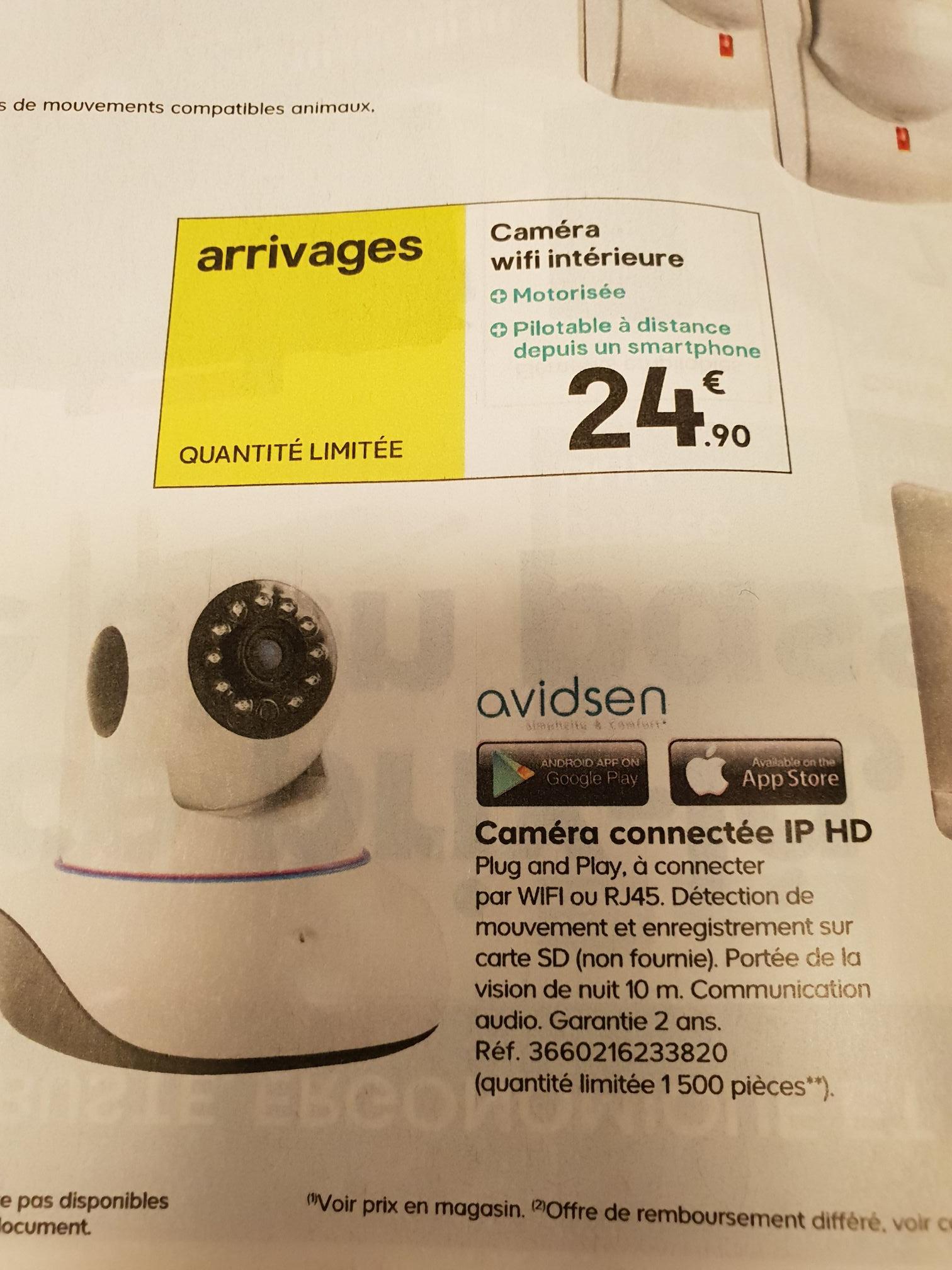 Caméra connectée IP - HD