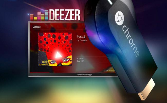 [Possesseurs de Chromecast] 90 jours d'abonnement offerts à Deezer Premium