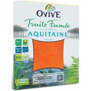 Truite fumée Ovive Aquitaine 4 tranches (1.5€ via shopmium)