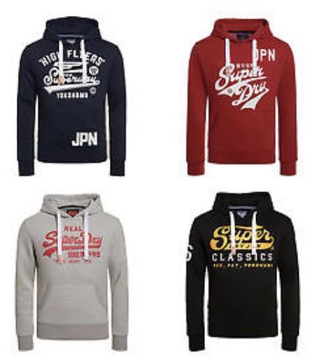 Sweat-shirt à Capuche  Superdry - Modèles & Tailles au choix