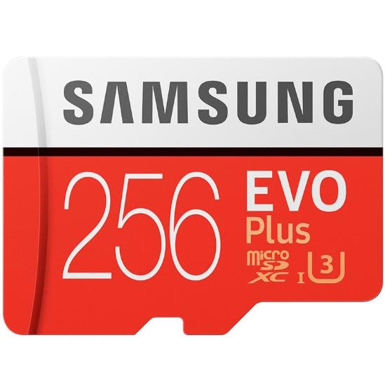 Carte microSDXC Samsung Evo Plus U3 - 256 Go