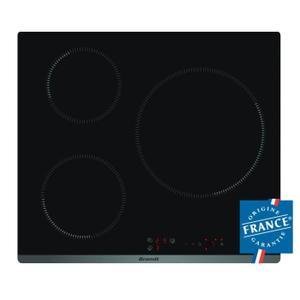Table de cuisson Induction Brandt TI118B - 3 zones, 7200W