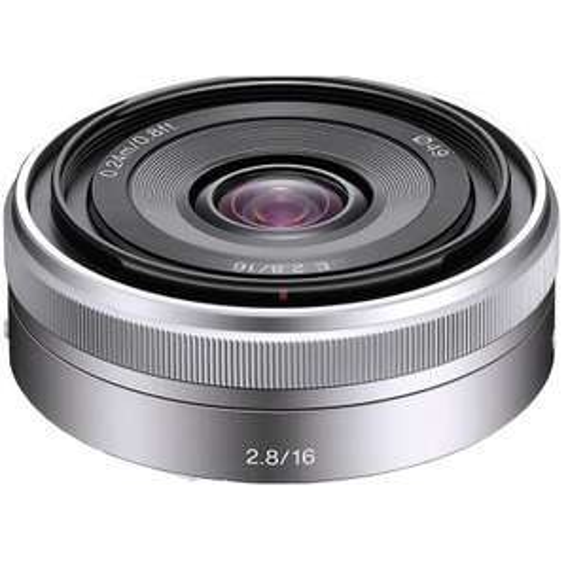 Sélection d'objectifs monture E pour Sony A6000 en promo - Ex : Objectif Sony 16 mm F 2,8 SEL