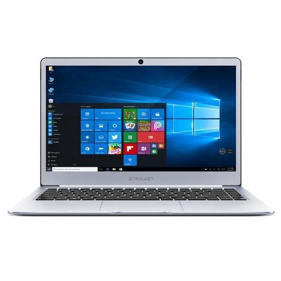 """PC portable 14"""" Teclast F7 - Celeron N3450, 6 Go de RAM, 128 Go de SSD, Qwerty (vendeur tiers)"""