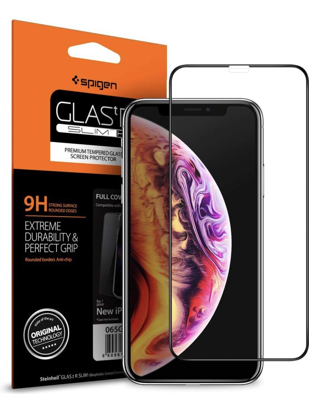 Verre trempé Spigen pour iPhone XR (Vendeur Tiers)