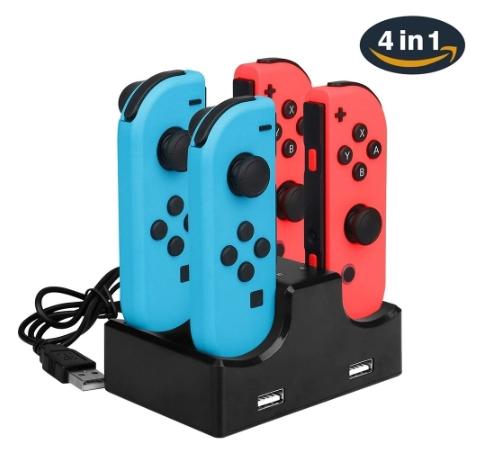 Station de charge compatible Nintendo Joy-con Switch