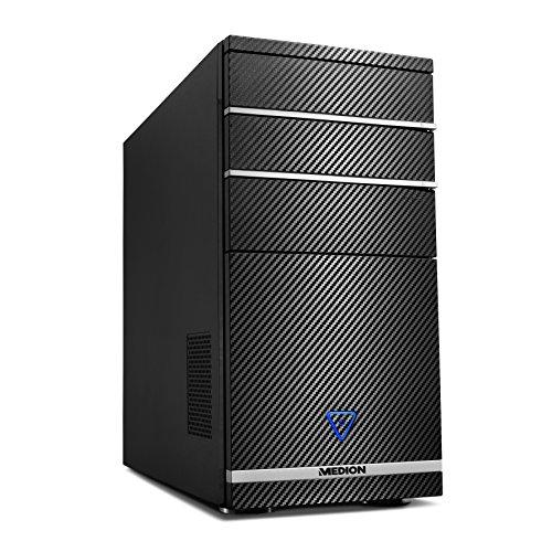 PC de Bureau Medion Akoya P66024 - i7-8700, RAM 8Go, 1To + SSD 128Go, GTX 1050 Ti 4Go, Sans OS