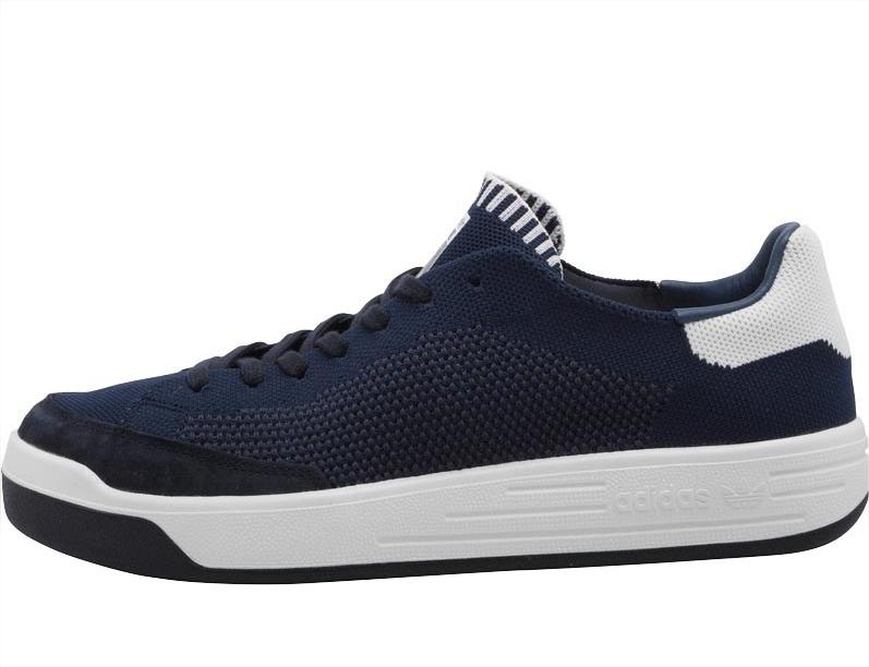 Baskets Adidas Originals Rod Laver Super Primeknit - Bleu Marine