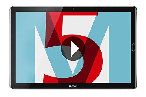 """Tablette 10.8"""" Huawei Mediapad M5 - 4 Go RAM, 32 Go eMMC, Gris (via ODR de 50€)"""