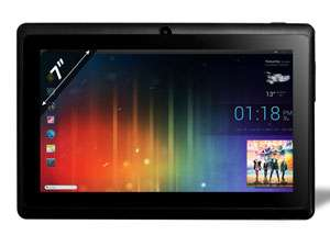 Tablette Android (4.0) 7'' Capacitif - 2 Go + µSD - Proc. 1.2Ghz/512Mo Ram