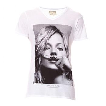 T-shirt Homme eleven paris - blanc