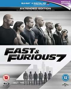 Blu-ray Fast ans Furious 7 - Extended version